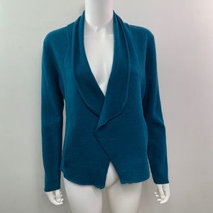 Chicos open front wool cardigan